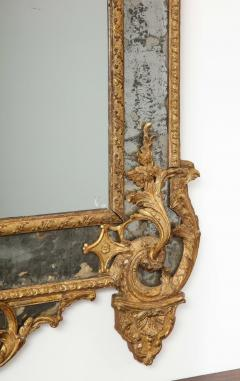Large R gence Carved Giltwood Wall Mirror - 1945309