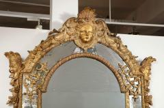 Large R gence Carved Giltwood Wall Mirror - 1945311