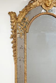 Large R gence Carved Giltwood Wall Mirror - 1945314