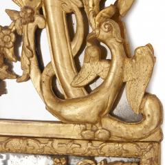 Large R gence period carved giltwood wall mirror - 1287213