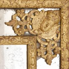 Large R gence period carved giltwood wall mirror - 1287214