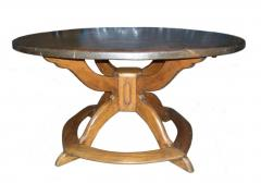 Large Round Alpine Early 19th Century Pine Table - 511388