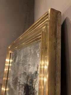 Large Scale Brass Framed Mirror France late 19th Century - 1180141