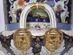 Large Scale Pair of Royal Crown Derby Style Campana Urns - 1912626