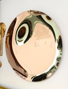 Large Sculptural Round Concave Rose Rosa Mirror Italy 2021 - 2004395