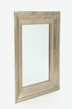 Large Silvered metal Framed Mirror  - 1652572