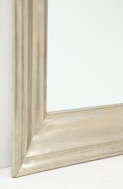 Large Silvered metal Framed Mirror  - 1652573