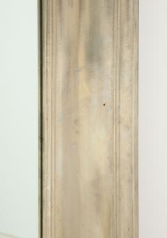 Large Silvered metal Framed Mirror  - 1652576