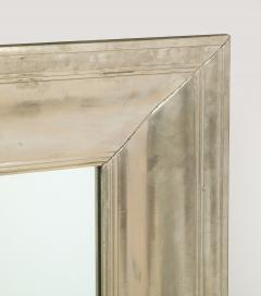 Large Silvered metal Framed Mirror  - 1652578