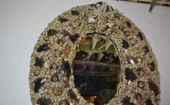 Large Size Shell Mirror - 1101801