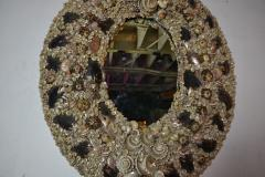 Large Size Shell Mirror - 1101804