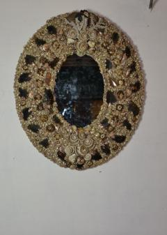 Large Size Shell Mirror - 1101999