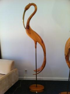 Large Standing Crane Birds - 77973