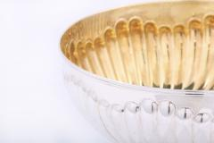 Large Sterling Silver Centerpiece Bowl Gold Interior - 1964902