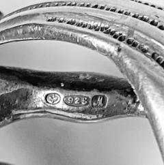 Large Sterling Silver Desk Seal Cherub Chester 1912 - 1718472