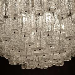 Large Tiered Chandelier Attributed to Venini Murano - 1409990