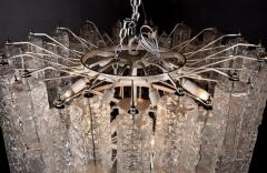 Large Tiered Chandelier Attributed to Venini Murano - 1409991