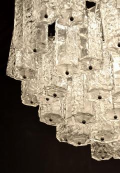 Large Tiered Chandelier Attributed to Venini Murano - 1409993