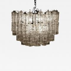 Large Tiered Chandelier Attributed to Venini Murano - 1411302
