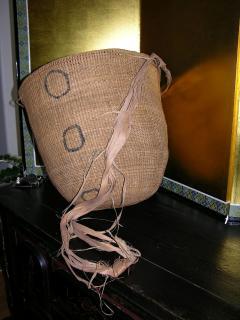 Large Vintage Burden Gathering Basket Yanomami - 922898