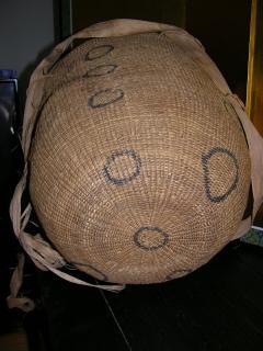 Large Vintage Burden Gathering Basket Yanomami - 922902