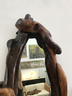 Large Wood Mirror - 601842