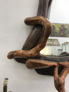 Large Wood Mirror - 601843