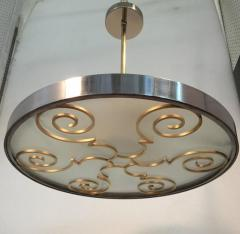 Lars Holmstr m Chandelier by Lars Holmstr m for Arvika 1930s - 1028184