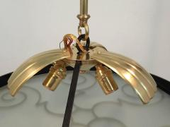 Lars Holmstr m Chandelier by Lars Holmstr m for Arvika 1930s - 1028185