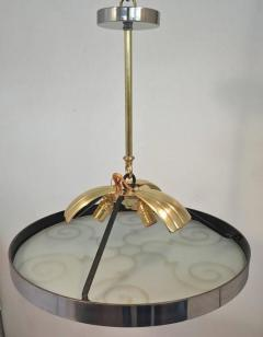Lars Holmstr m Chandelier by Lars Holmstr m for Arvika 1930s - 1028186