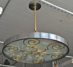 Lars Holmstr m Chandelier by Lars Holmstr m for Arvika 1930s - 1028190