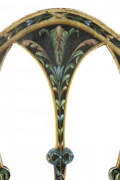 Late 18th C Twelve George III Painted Shield Back Dining Chairs Set of 12 - 1521657