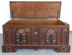 Late 18th Century Hand Painted Bavarian Dowry Chest Dated 1767 - 1122016