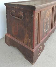 Late 18th Century Hand Painted Bavarian Dowry Chest Dated 1767 - 1122020