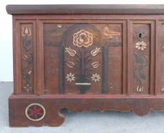 Late 18th Century Hand Painted Bavarian Dowry Chest Dated 1767 - 1122023