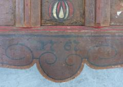 Late 18th Century Hand Painted Bavarian Dowry Chest Dated 1767 - 1122025