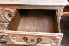 Late 18th Century Louis XVI Grey Finish Three Drawer Commode with Raised Panels - 416639
