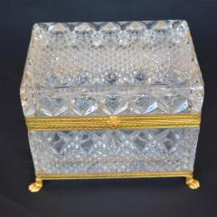 Late 19th Century Baccarat Glass Boxes  - 2136922