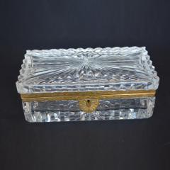 Late 19th Century Baccarat Glass Boxes  - 2136926