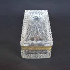 Late 19th Century Baccarat Glass Boxes  - 2136927