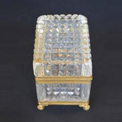 Late 19th Century Baccarat Glass Boxes  - 2136929