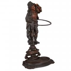 Late 19th Century English cast iron hallstand - 1443673