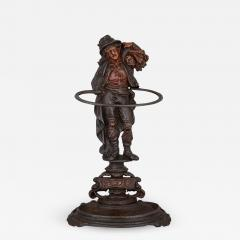 Late 19th Century English cast iron hallstand - 1446472