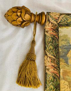 Late 19th Century French Handwoven Tapestry of Garden with Three Putti - 1725929