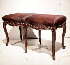 Late 19th Century French Louis XV Style Bench - 1793966