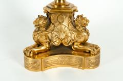 Late 19th Century Large Gilt Bronze Eleven Arms Candelabra - 1170971