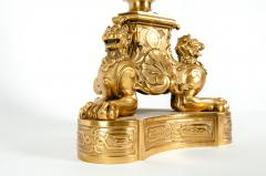Late 19th Century Large Gilt Bronze Eleven Arms Candelabra - 1170973