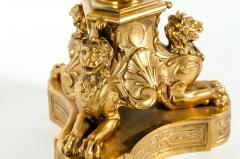 Late 19th Century Large Gilt Bronze Eleven Arms Candelabra - 1170976