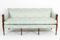 Late 19th Century Mahogany Framed Goose Down Filled Sofa - 1169302
