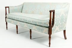 Late 19th Century Mahogany Framed Goose Down Filled Sofa - 1169307